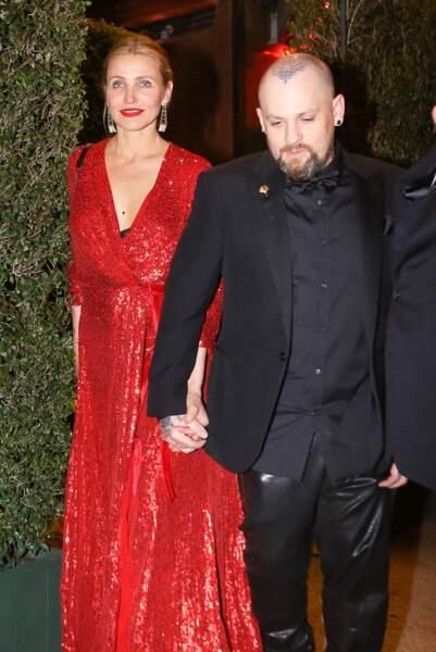 Cameron Diaz et Benji Madden se sont mariés secrètement en janvier 2015, après quelques mois de fréquentation.