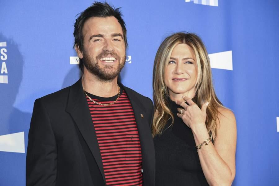 Après la tornade Brad Pitt, Jennifer Aniston a tenu à épouser Justin Theroux dans le plus grand des secrets, en août 2015. En février 2018, le couple annonce sa séparation.