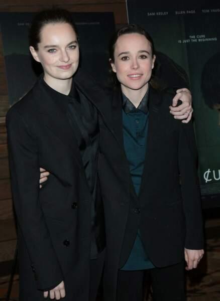 L'actrice Ellen Page et la danseuse Emma Portner se sont mariées en secret le 3 janvier 2018.