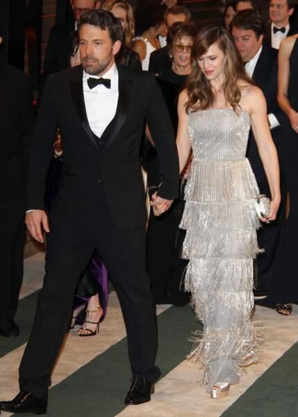 Le 29 juin 2005, Jennifer Garner et Ben Affleck se sont unis dans le plus grand des secrets sur une île dans l'archipel de Caïcos, dans les Caraïbes. Ils se sépareront dix ans plus tard.