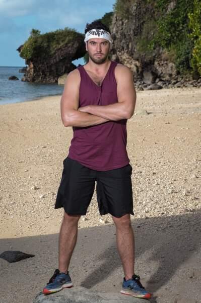 Adrien, candidat de Koh-Lanta Les 4 Terres sur TF1