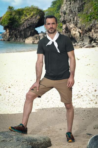 Samuel, candidat de Koh-Lanta Les 4 Terres sur TF1