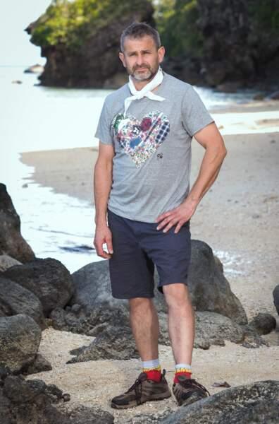 Fabrice, candidat de Koh-Lanta Les 4 Terres sur TF1