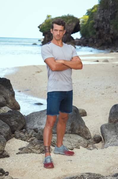 Mathieu, candidat de Koh-Lanta Les 4 Terres sur TF1