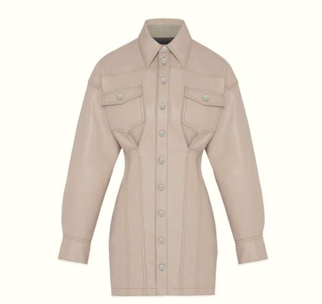 Robe corsetée, 700€, Fenty