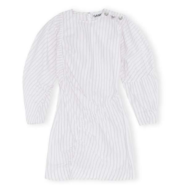Robe courte, 123€, Ganni