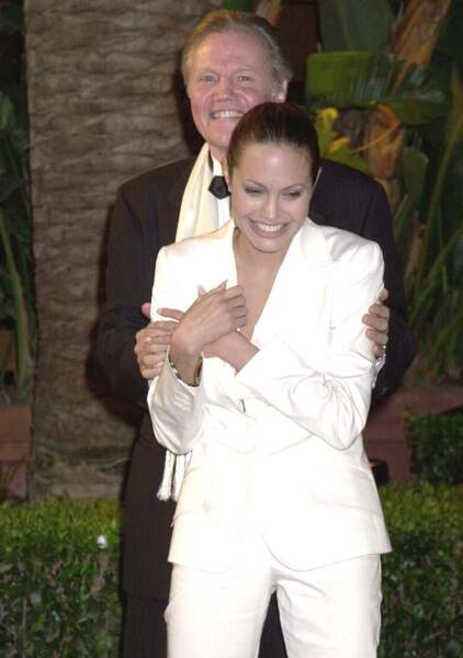 Angelina Jolie et son père, Jon Voight