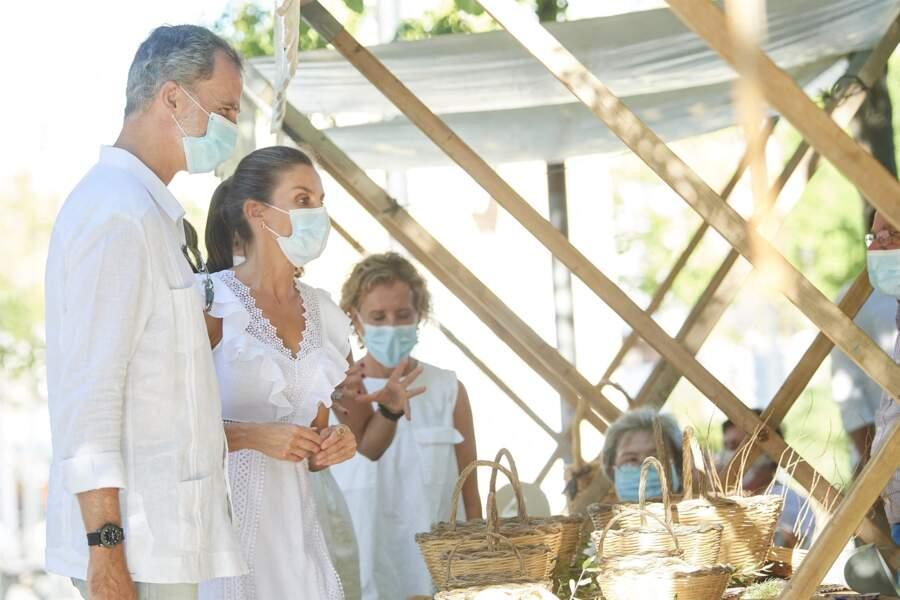 Felipe VI et Letizia, à Ibiza, le 17 août 2020.