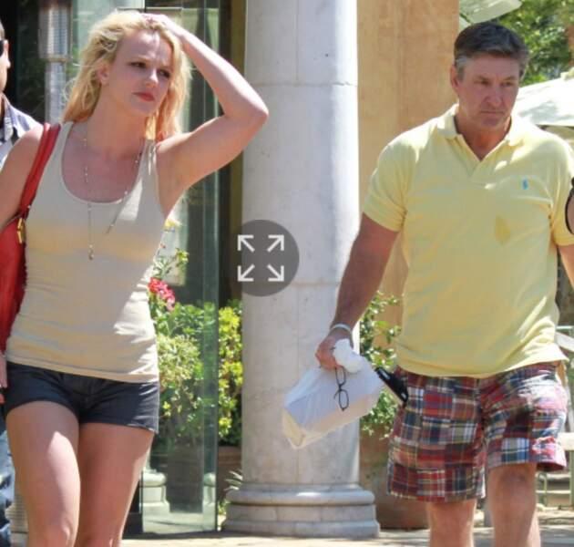 Britney Spears et son père, James