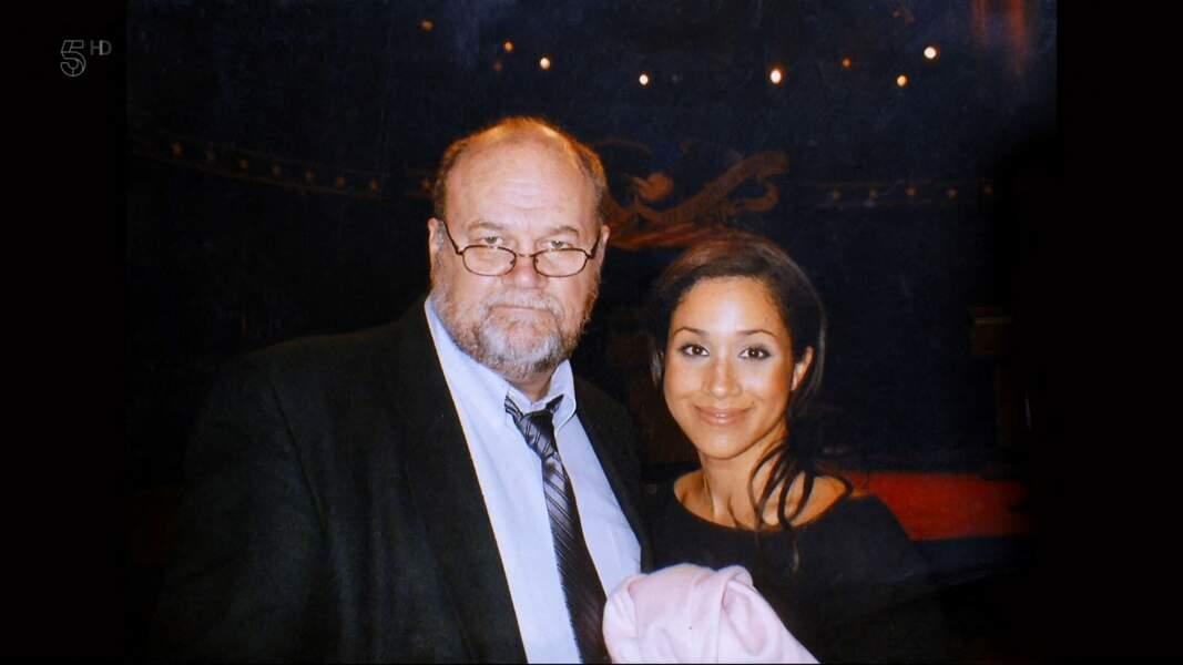 Meghan Markle et son père, Thomas