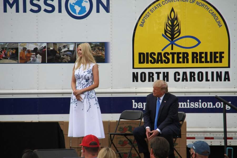 Malgré l'absence de la première dame, la robe d'Ivanka Trump semble s'inspirer fortement de son style souvent irréprochable.