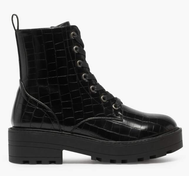 Boots, 39,99€, Gémo.