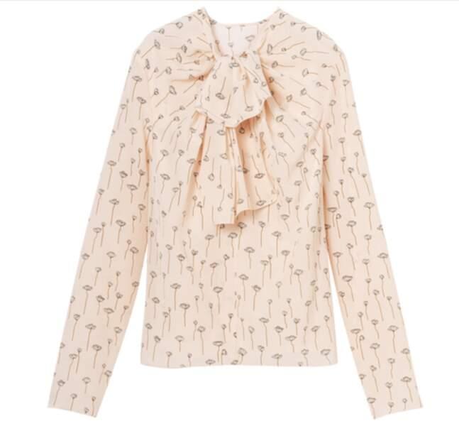 Blouse 450 €, Longchamp
