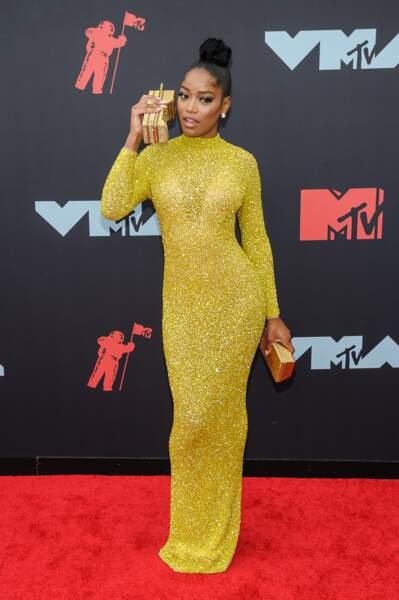 Keke Palmer à la remise de prix de la cérémonie des MTV Video Music Awards (MTV VMA's) à Newark dans le New Jersey