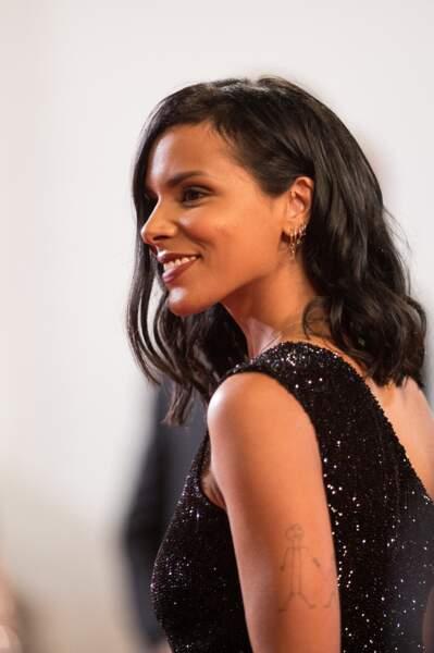 Shy'm lors du 71ème Festival International du Film de Cannes.