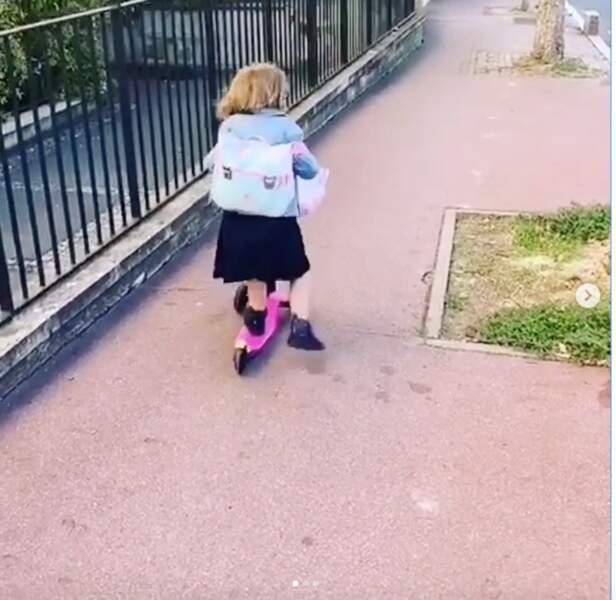 Ce 1er septembre, la fille de Laura Tenoudji et Christian Estrosi, Bianca, a fait sa rentrée des classes.