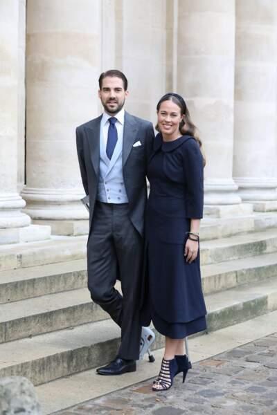 Le prince Philippos de Grèce s'est fiancé à Nina Flohr, une jeune roturière suisse.