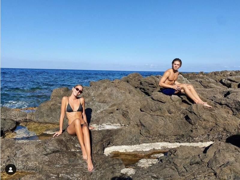 Maria Olympia de Grèce profite des vacances pour dévoiler des quelques photos intimes.