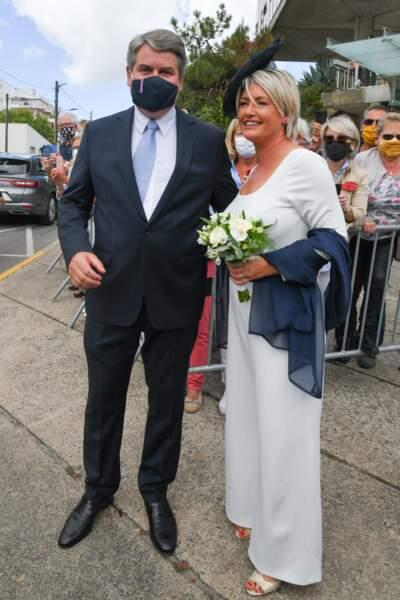Mariage de Franck Louvrier et Sophie Jolivet à La Baule