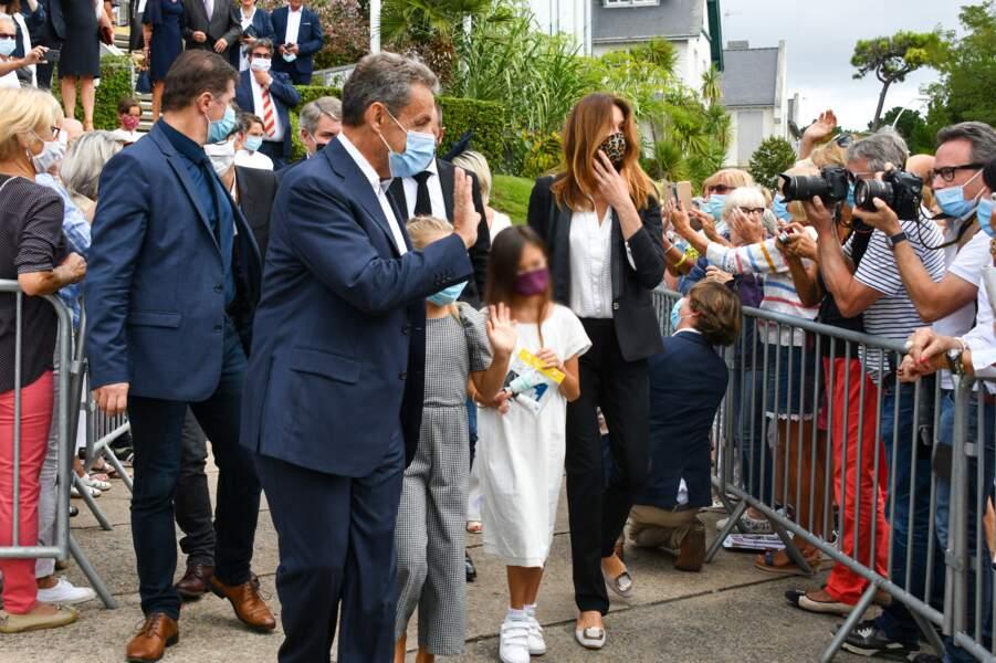 Carla-Bruni Sarkozy et Nicolas Sarkozy