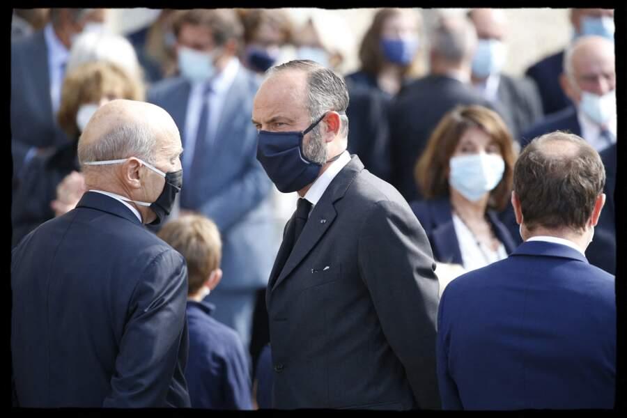 Alain Juppé et Edouard Philippe réunis pour rendre hommage à Antoine Rufenacht.