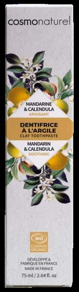 Dentifrice à l'argile Menthe, Cosmonaturel, 5,44€, sur greenweez.com