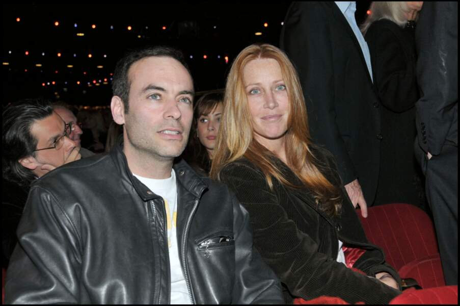 Anthony Delon et son ex-épouse Sophie Clérico, la mère de ses deux filles
