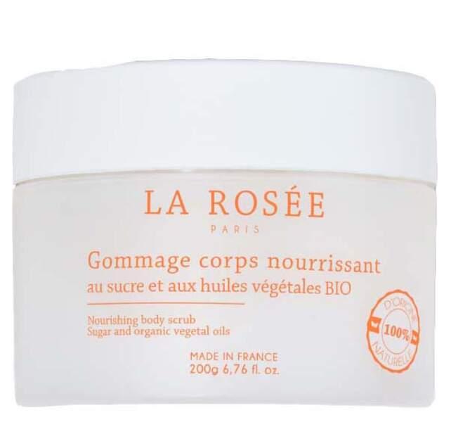 Gommage Corps, La Rosée, 16,90€, pharmacies et parapharmacies