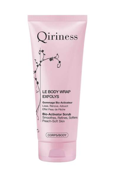 Body Wrap Exfolys, Qiriness, 30,90€, chez Marionnaud et qiriness.com