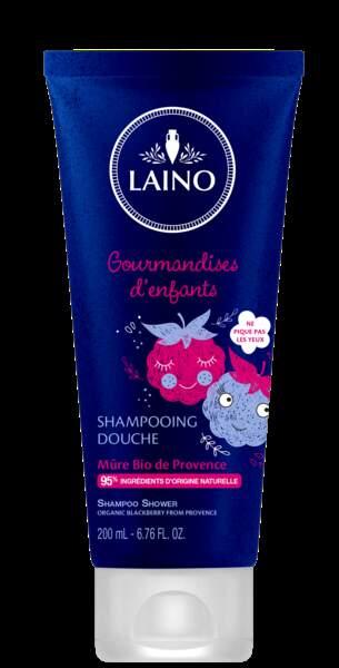Shampooing Douche, Gourmandises d'Enfants, Laino, 4,90 €