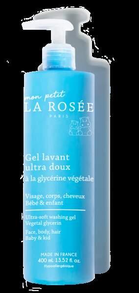 Gel Lavant Ultra-Doux, La Rosée, 10,90 €