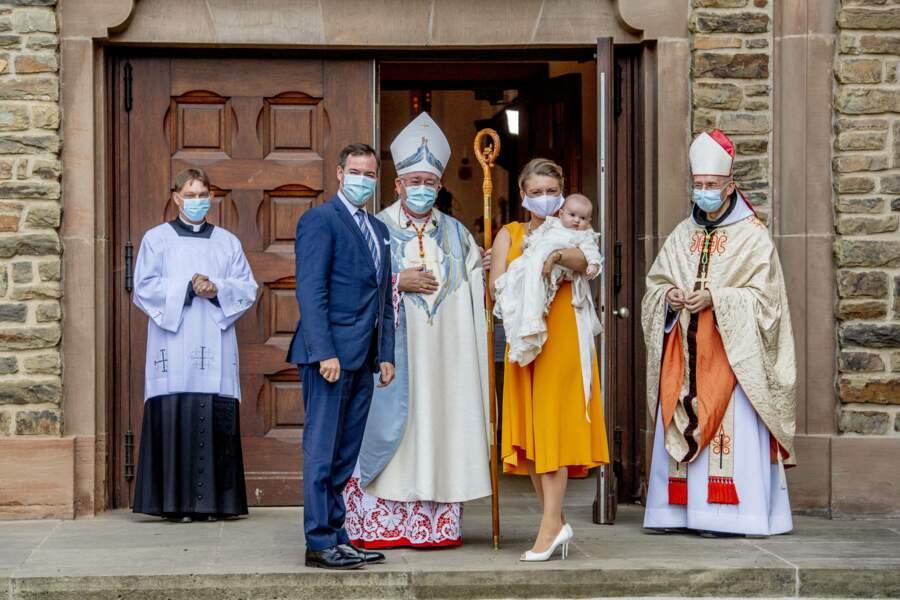 Baptême du prince Charles de Luxembourg