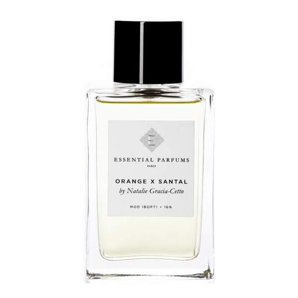 Orange x Santal by Nathalie Gracia-Celto chez Essential Parfums