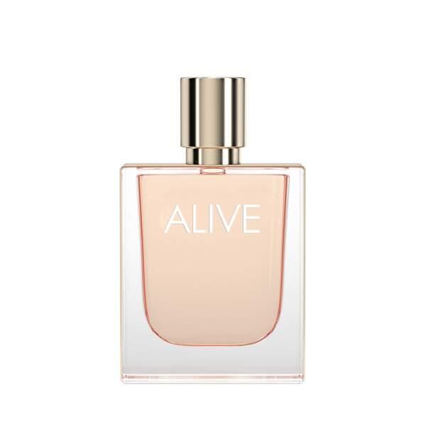 Boss Alive (Eau de Parfum, Hugo Boss, 100 ml, 84 €, en parfumeries)