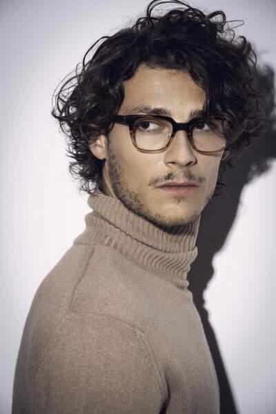 Hugo Marchand est le nouveau visage de la ligne masculine Nathalie Blanc Paris.