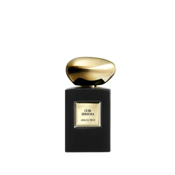 Cuir Zerzura d'Armani Privé (Eau de Parfum, 100 ml, 255 €)