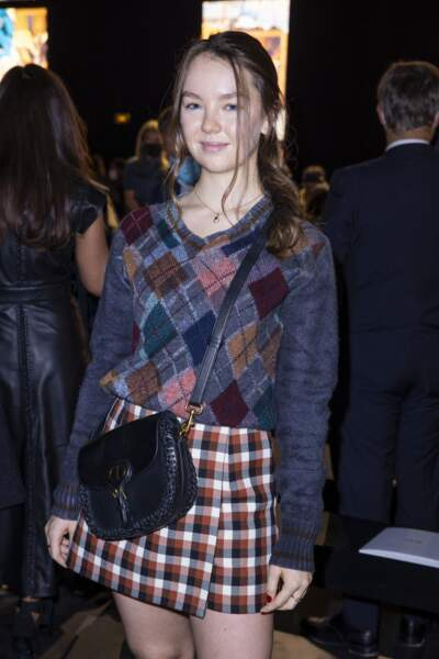 La princesse Alexandra de Hanovre a opté pour un look chic et tendance à la Fashion Week de Paris
