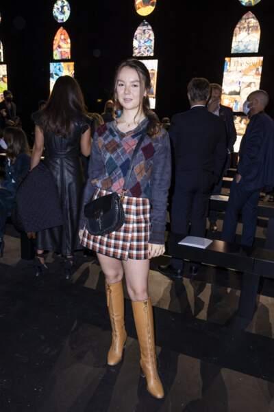 Alexandra de Hanovre portait un sac signé Dior, d'une valeur de 3800 €