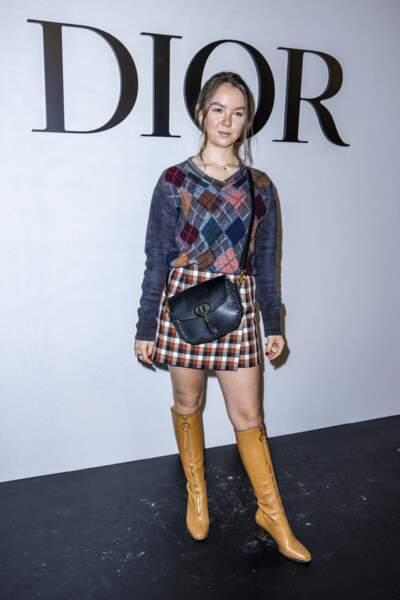 La princesse Alexandra de Hanovre était présente au défilé Dior, ce mardi 29 septembre 2020