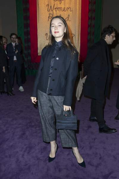 Ce n'est pas la première fois qu'Alexandra de Hanovre assiste à un défilé Dior