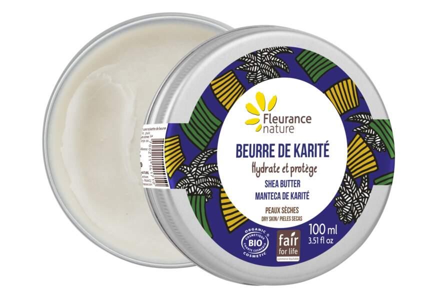 Beurre de Karité BIO, Fleurance Nature, 9,50€