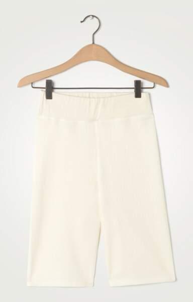 Short écru en coton, 55 €, American Vintage