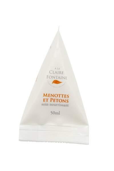 Menottes et petons, bio, A La Claire Fontaine, 14,50€