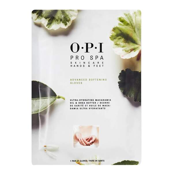 Gants Adoucissants Pro SPA, OPI, 6€
