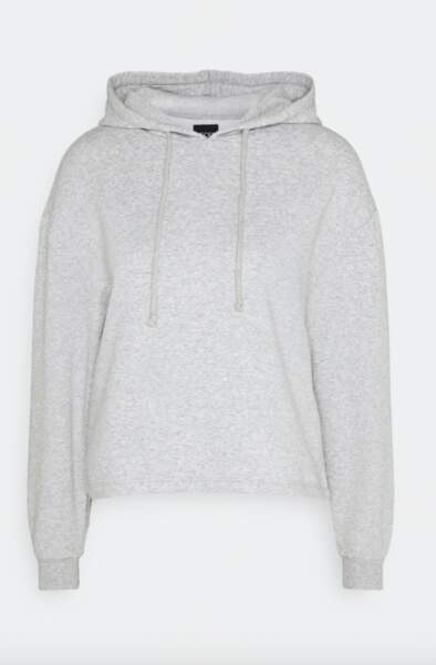 Sweat à capuche gris, 19,99 €, Pieces sur Zalando