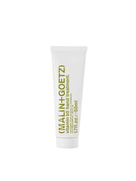 Traitement mains vitamine B5, Malin+Goetz, 26€