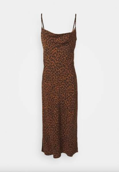 Robe-nuisette d'été léopard couleur chai, Good American sur  Zalando.fr