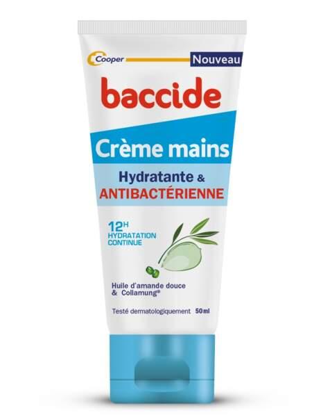 Crème 2 en 1 hydratante et purifiante, Baccide 5,5€