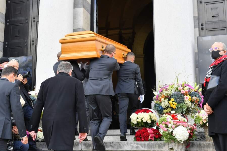 Les funérailles de Kenzo Takada ont lieu ce 9 octobre au cimetière du Père Lachaise, à Paris.