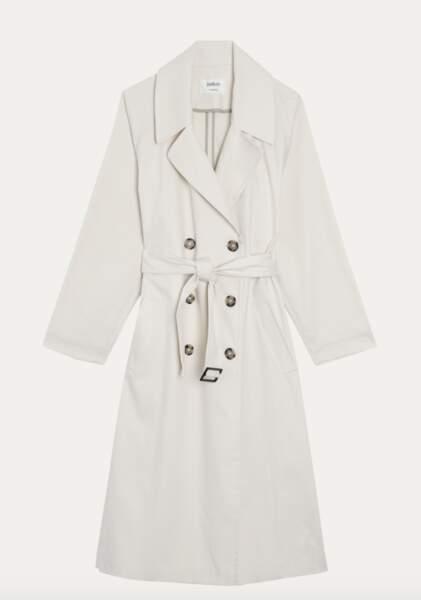 Manteau effet trench, 195 €, Ba&Sh